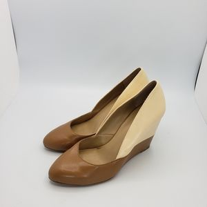 Sole society twotone wedges size 7